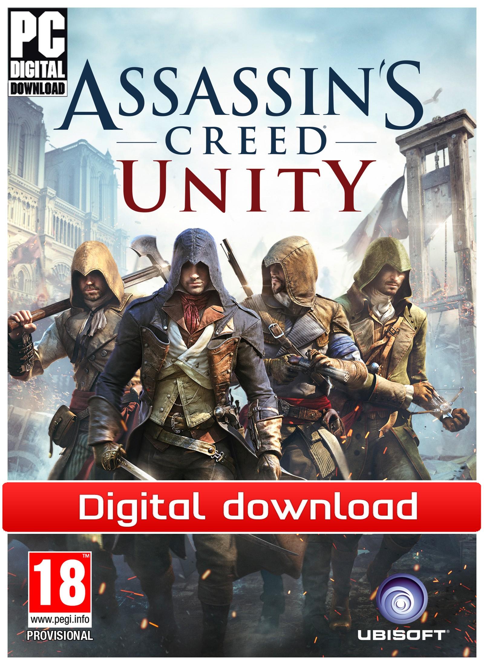 Assassins Creed Unity (PC nedlastning) PCDDACUNITY