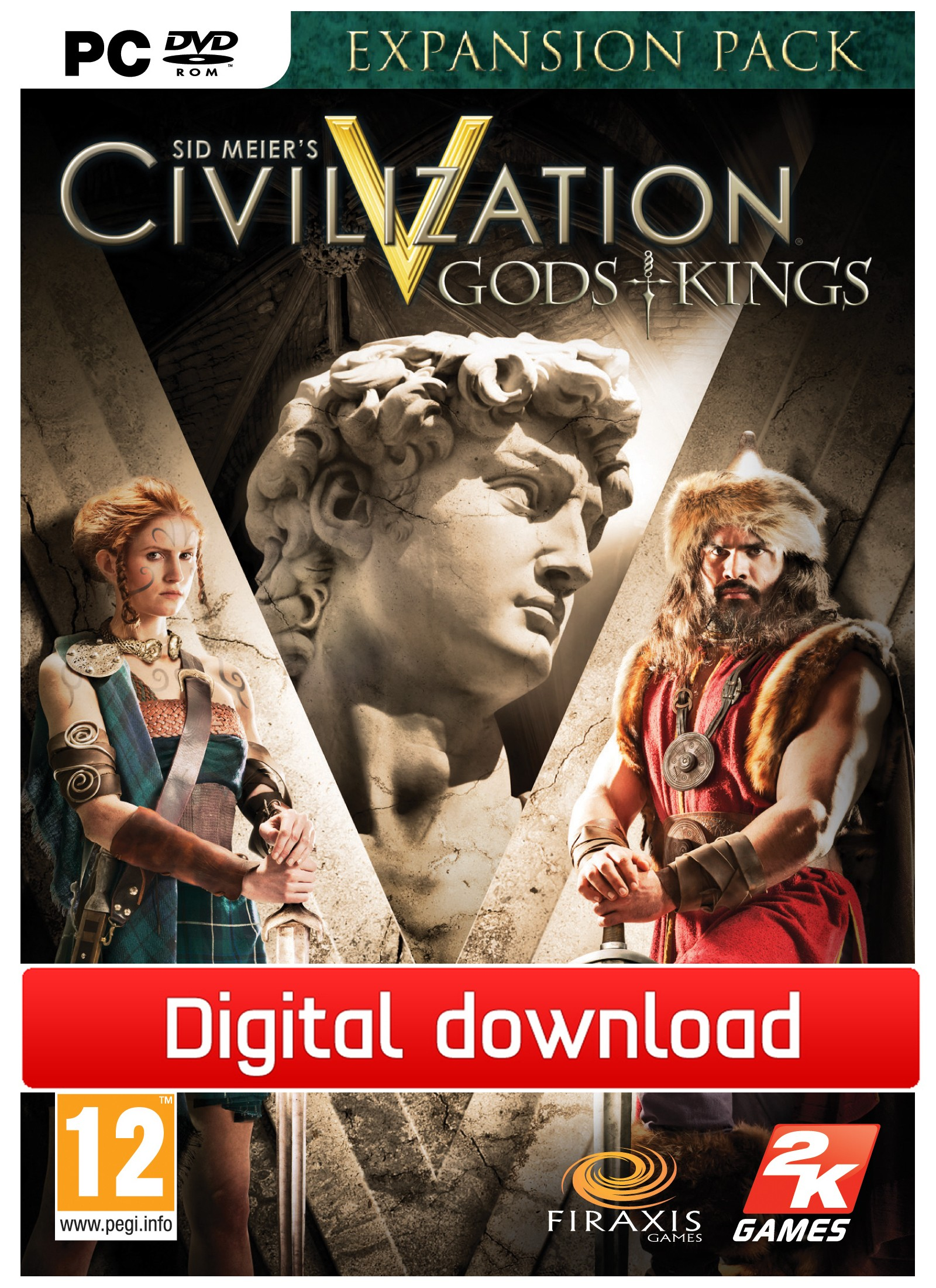 29725 : Civilization 5: Gods & Kings (PC nedlastning)