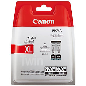 Canon PGI-570XL svart Bläckpatron (2-pack)