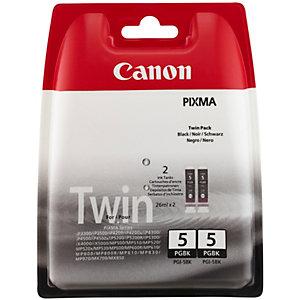 Canon PGI-5BK Bläckpatron - svart (2-pack)