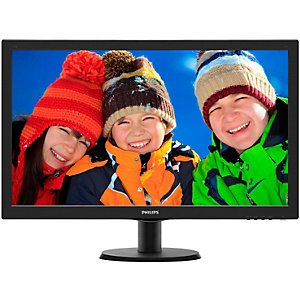 "Philips 273V5LHSB 27"" LED-skjerm (sort)"