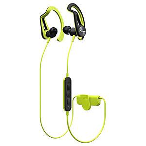 Pioneer SE-E7BT trådlösa in-ear hörlurar (gul)