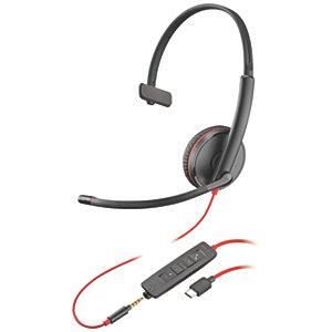 Plantronics BlackWire 3215 USB mono-headsett