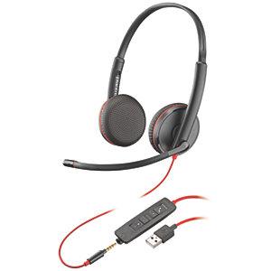 Plantronics BlackWire 3225 USB stereoheadsett