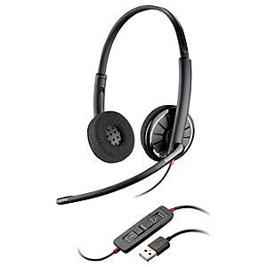 Plantronics BlackWire 320-M UC stereo headset