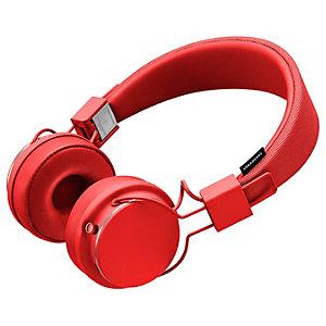 Urbanears Plattan II trådlösa on-ear hörlurar (röd)