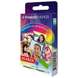 "Polaroid ZINK 2x3"" Rainbow fotopapper (20-pack)"