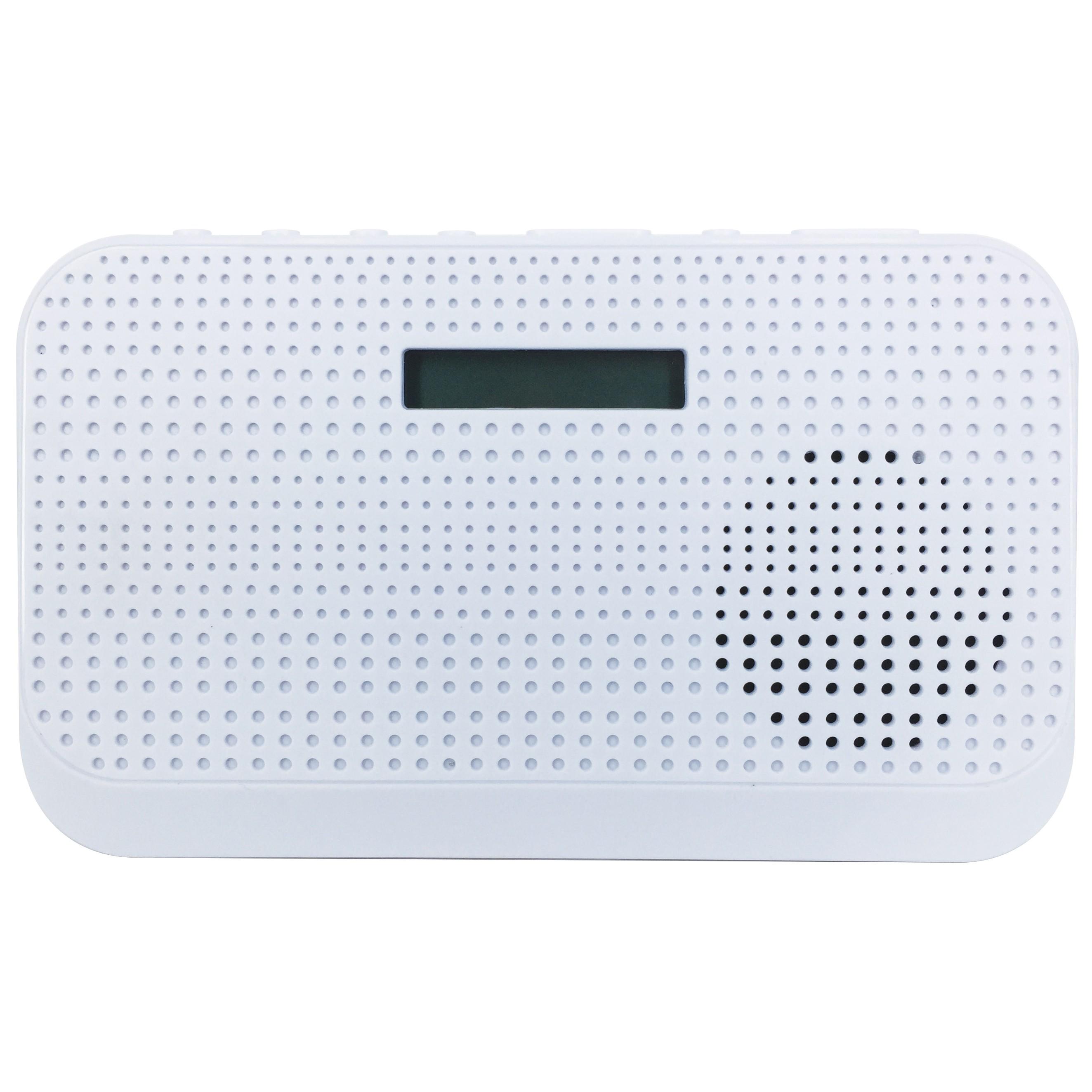 100284 : POPintro FM/DAB+ radio (hvit)