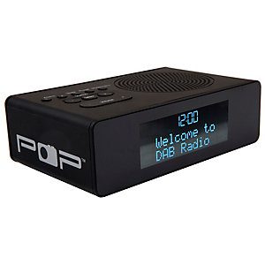 POPup FM/DAB+ radio (svart)