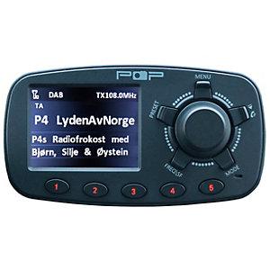 POPyourCAR 3.0 FM/DAB+ biladapter