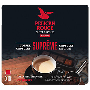 Pelican Rouge Supreme kaffekapslar till Nespresso