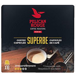 Pelican Rouge Superbe kaffekapslar till Nespresso