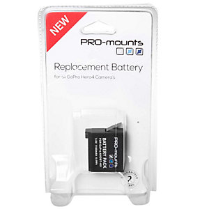 Pro-Mounts batteri til GoPro HERO4