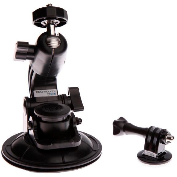 PM2013GP70 : Pro-Mounts sugekoppfeste til GoPro actionkamera