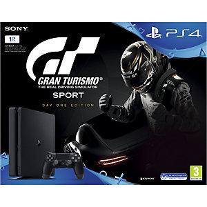 PlayStation 4 Slim 1 TB + GT Sport Day One edition