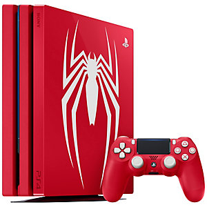 PlayStation 4 Pro 1 TB: Spider-Man Limited Edition