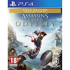 Assassins Creed: Odyssey - Gold Edition (PS4)