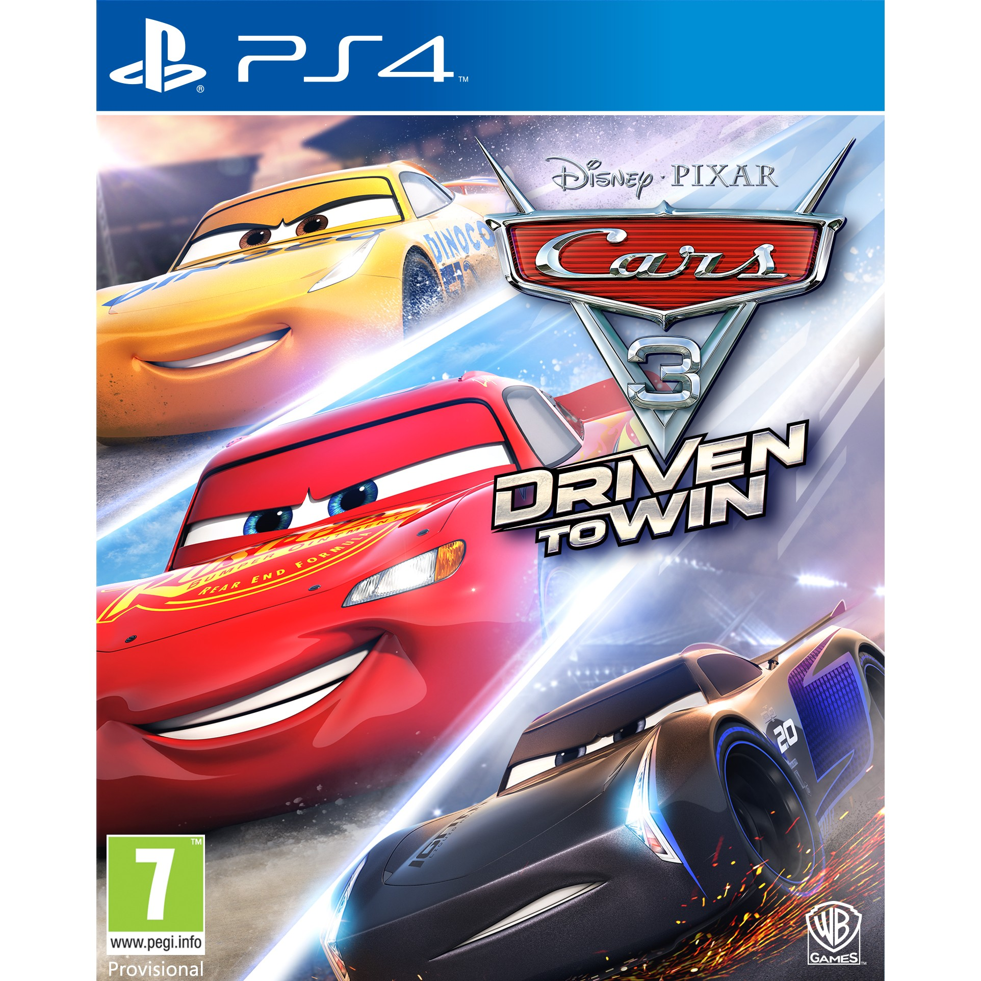 1000646269 : Cars 3: Driven to Win (PS4)