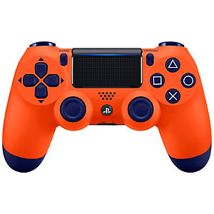 Nya PS4 DualShock 4 trådlösa handkontroll (orange)