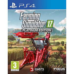 Farming Simulator 17 - Platinum Edition (PS4)