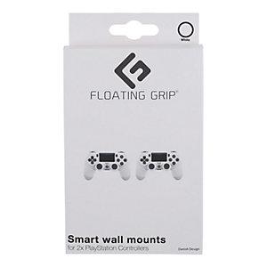 Floating Grip väggfäste för PS4/3 kontroller (vit)