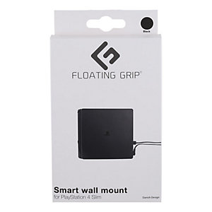 Floating Grip väggfäste för PS4 Slim konsol (svart)