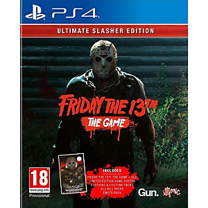 Friday the 13th The Game - Ultimate Slasher Ed. (PS4)