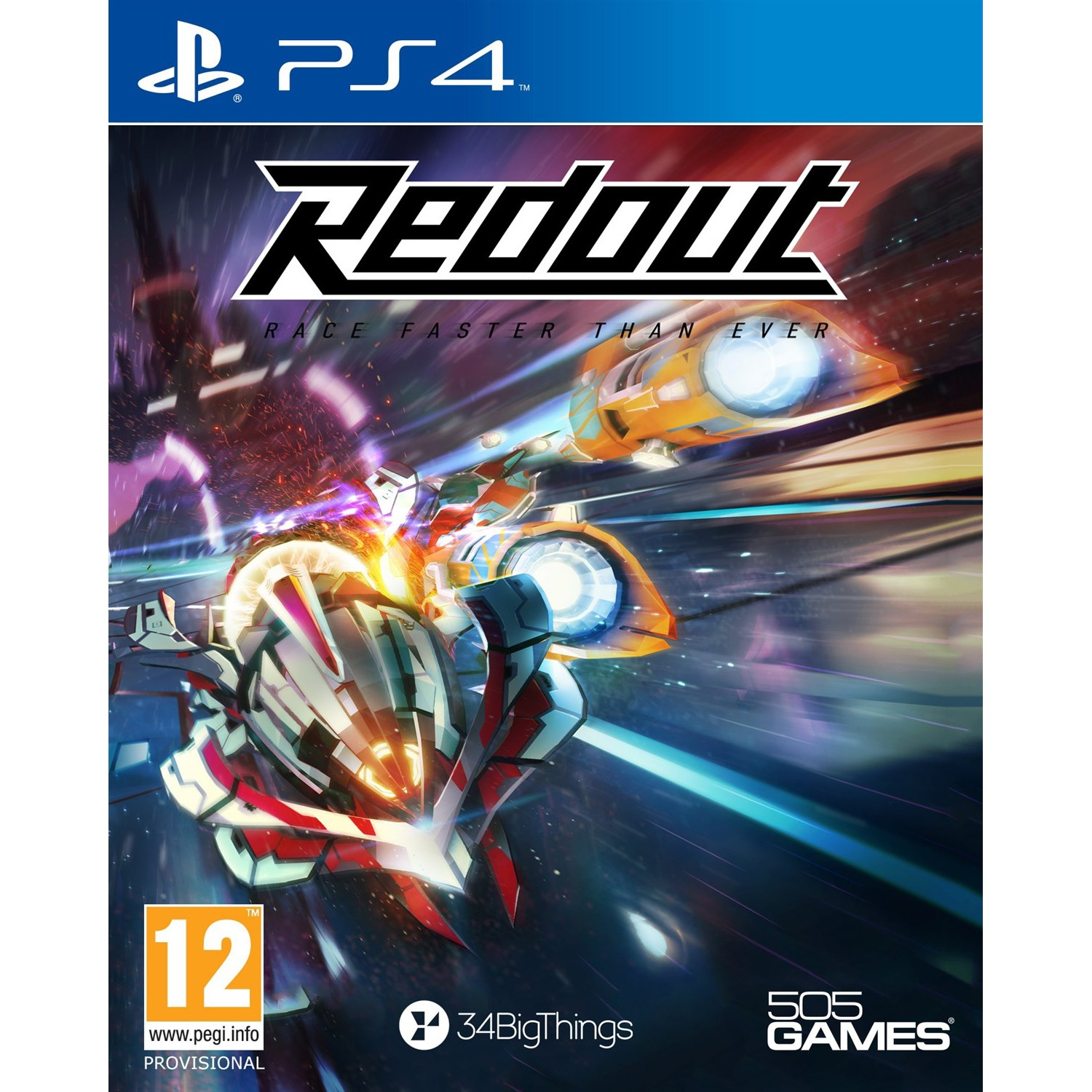4489REDO : RedOut (PS4)