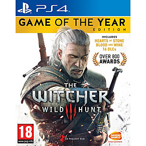 The Witcher 3: Wild Hunt - Game of the Year Ed. (PS4)