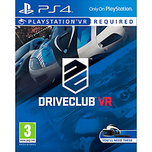 DriveClub - PlayStation VR