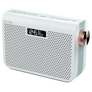 Pure One Midi Serie 3 FM/DAB+ radio (hvit)