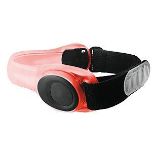 Puro Universal mobilarmbånd m/LED-lys (rød)