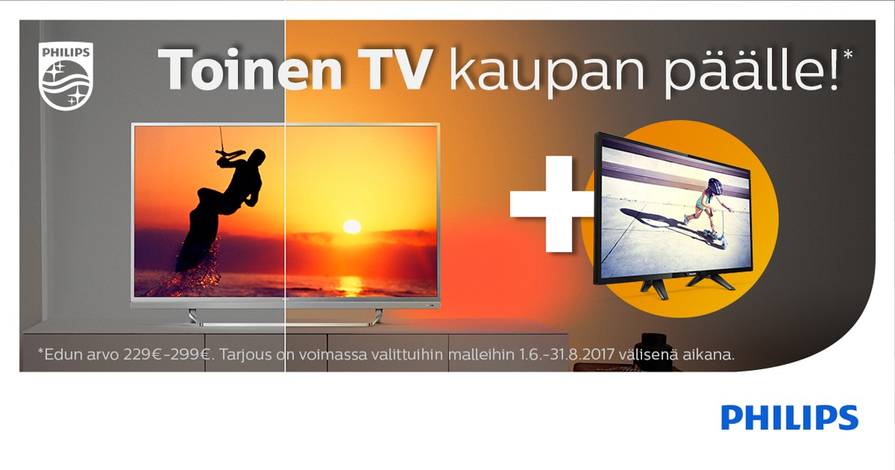 Philips ekstra TV