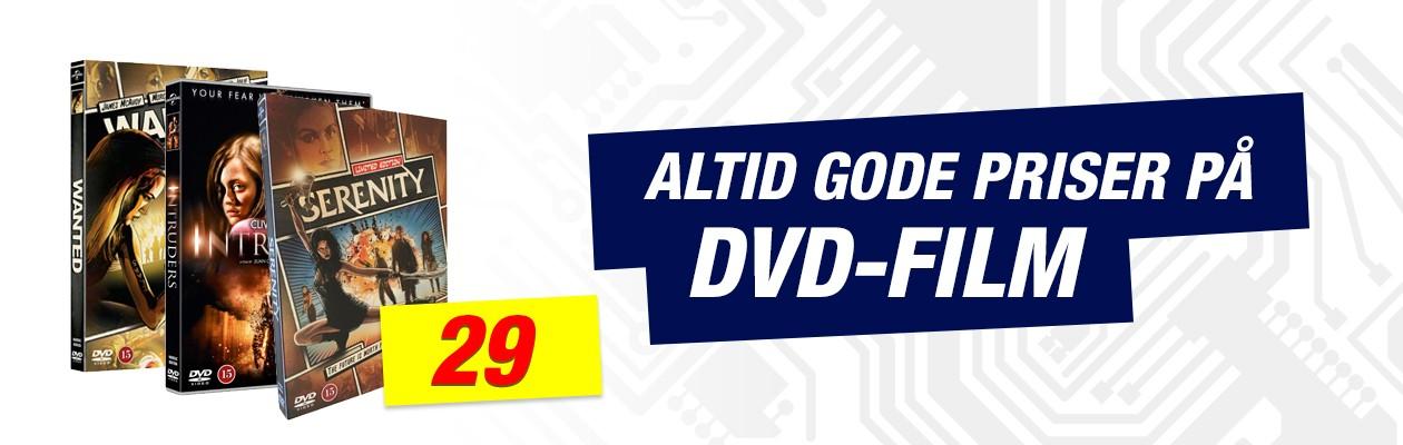 Altid gode priser på DVD-film - 29kr