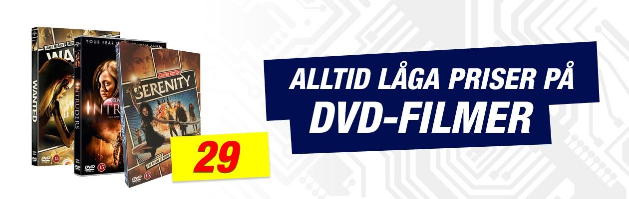 Köp DVD-filmer billigt