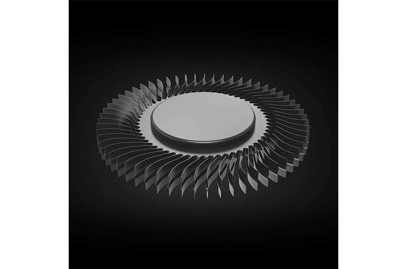2 x AeroBlase™ 3D -jäähdytys