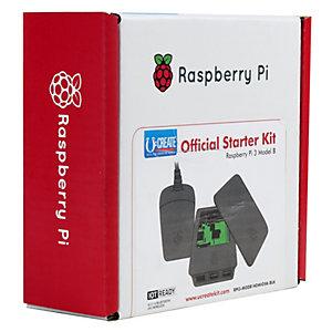 Raspberry Pi 3 Off startsett (sort/grå)