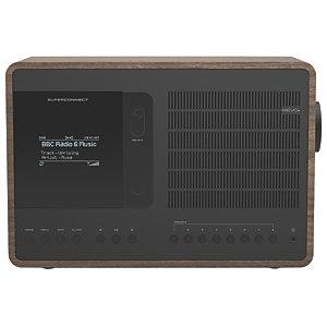 Revo SuperConnect DAB+ radio REVOSCWNBK (valnøtt/sort)
