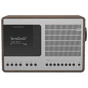 Revo SuperConnect DAB+ radio REVOSCWNSI (valnøtt/sølv)