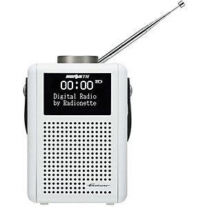 Radionette Explorer Radio (vit)
