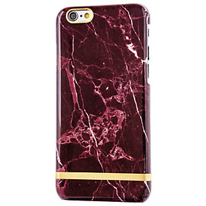 Richmond & Finch Marble Glossy iPhone 6s (röd)