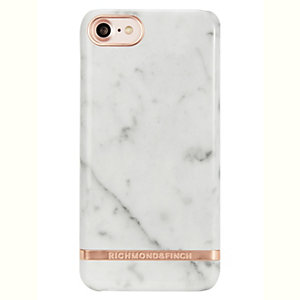 Richmond & Finch iPhone 6/6S/7/8 fodral (white marble)