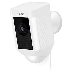 Ring Spotlight Cam Wired övervakningskamera (vit)