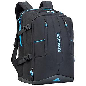 """Rivacase ryggsäck för bärbar dator gaming 17"""" (svart)"""
