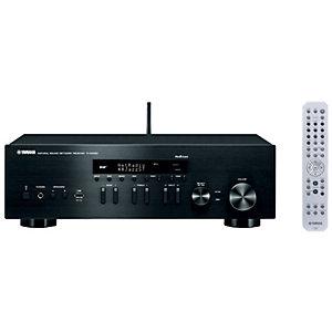 Yamaha 2.0 stereo receiver R-N402D (sort)