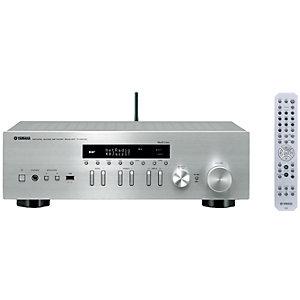 Yamaha 2.0 stereo receiver R-N402D (sølv)