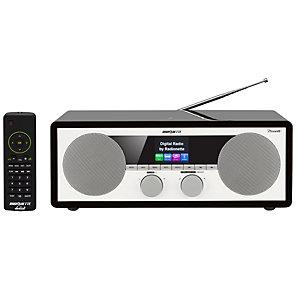 Radionette Duett Radio (svart)