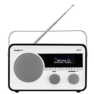 Radionette Solist DAB-radio (sort)