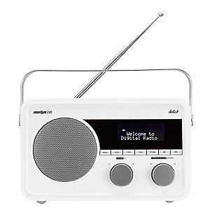 Radionette Solist DAB-radio (hvit)
