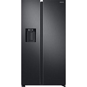 Samsung side-by-side kjøleskap RS68N8231B1 (sort)